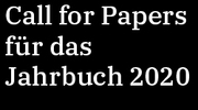 Call for Paper - Jahrbuch 2020