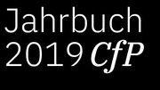 Jahrbuch 2019 – Call for Papers